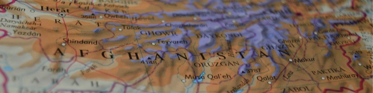 Carte de l'Afghanistan